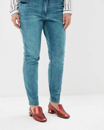 Синие джинсы с высокой посадкой Studio Untold