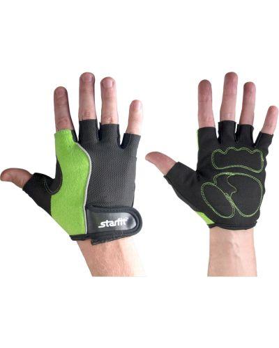 Кожаные перчатки нейлоновые для фитнеса Star Fit