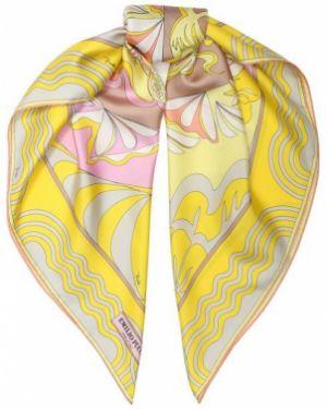 Платок из шелка шелковый Emilio Pucci