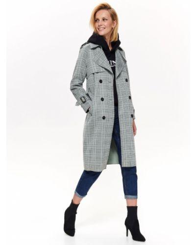 Płaszcz zapinane na guziki Top Secret