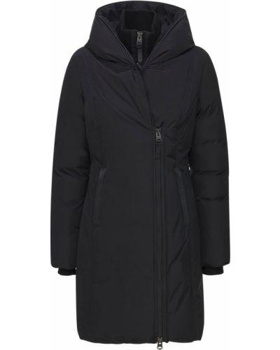 Черная пуховая куртка Mackage