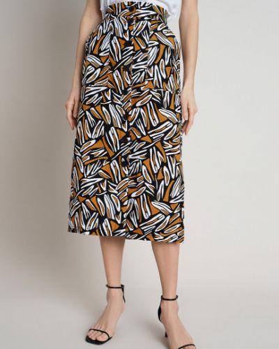 С завышенной талией прямая юбка карандаш на пуговицах Ostin
