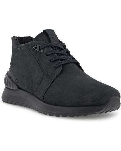Черные резиновые ботинки Ecco