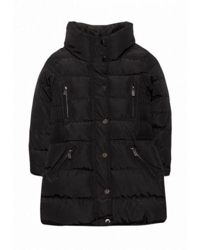 Черная куртка теплая Piazza Italia