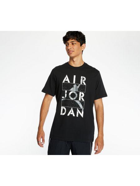 Czarny t-shirt Jordan