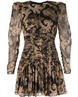 Платье с завышенной талией шелковое Thurley