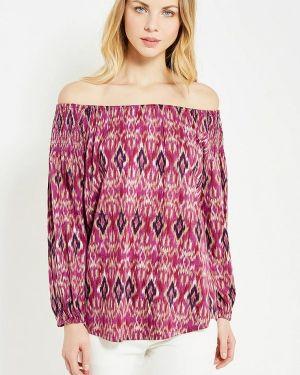 Блузка с открытыми плечами розовая Lauren Ralph Lauren