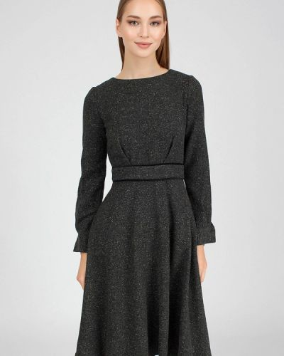 Платье - серое Serginnetti