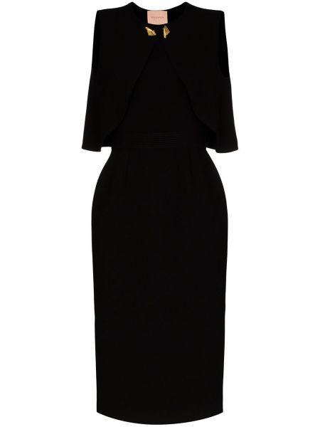 Платье миди платье-комбинация шелковое Roksanda