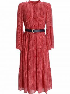Платье миди в цветочный принт Michael Kors
