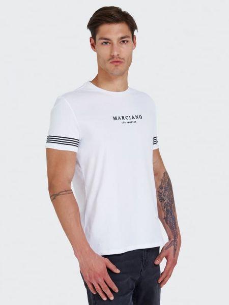 Koszula krótkie z krótkim rękawem z logo wełniany Guess