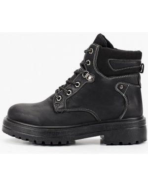 Туфли на каблуке черные из нубука Sweet Shoes