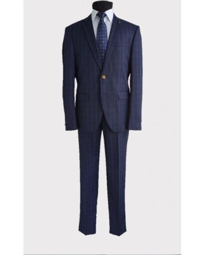 Синий костюм Loranzo