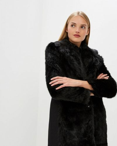 Черное пальто осеннее Patrizia Pepe