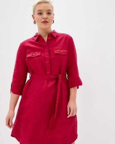 Фиолетовое платье рубашка Gerry Weber