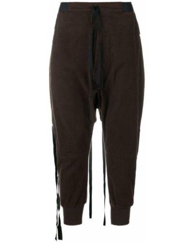 Спортивные брюки с карманами с заниженным шаговым швом Unravel Project