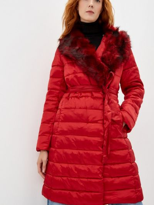 Утепленная куртка - красная Macleria