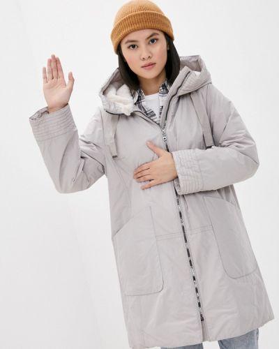 Бежевая утепленная куртка Dixi Coat