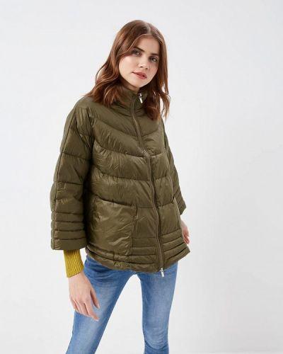 Утепленная куртка весенняя зеленая On Parle De Vous