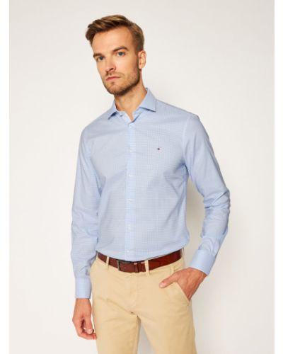 Klasyczna niebieska koszula oxford Tommy Hilfiger