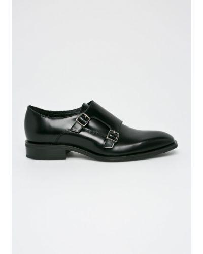 Кожаные туфли резиновые текстильные Gino Rossi