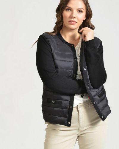 Стеганый пиджак с воротником с длинными рукавами Via Appia