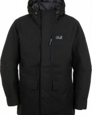 Зимняя куртка с капюшоном утепленная Jack Wolfskin