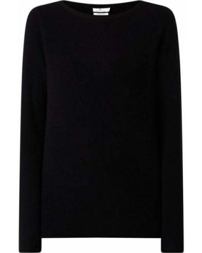 Czarny sweter bawełniany Tom Tailor