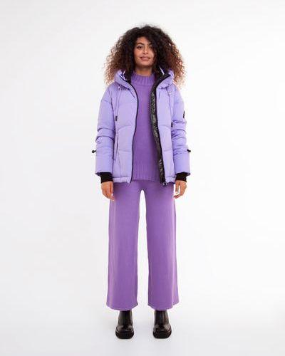 Куртка короткая - фиолетовая Visdeer