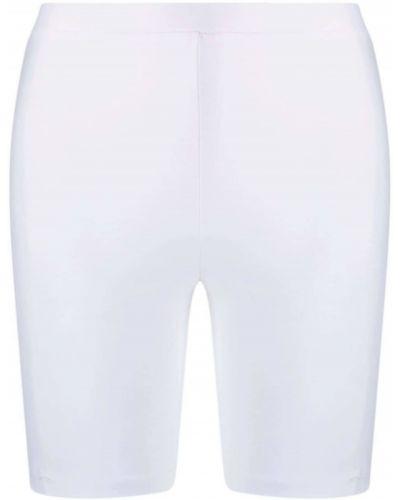 Облегающие белые шорты с поясом Atu Body Couture