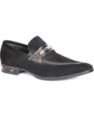 Черные туфли замшевые Iceberg