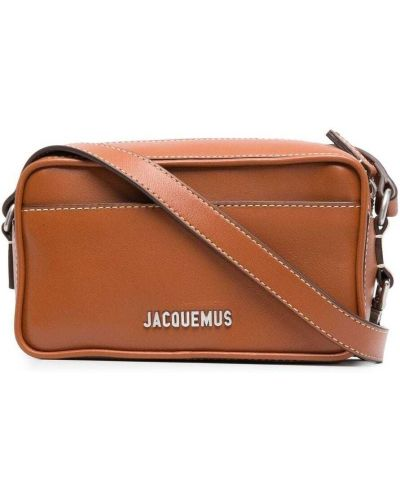 Brązowa torebka crossbody skórzana Jacquemus