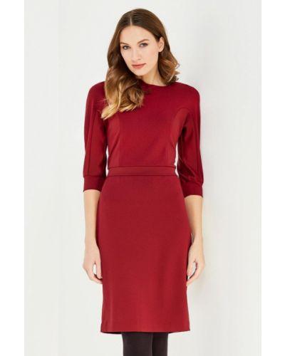 Красное платье-футляр Key