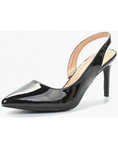 Кожаные туфли с открытой пяткой на каблуке Sergio Todzi