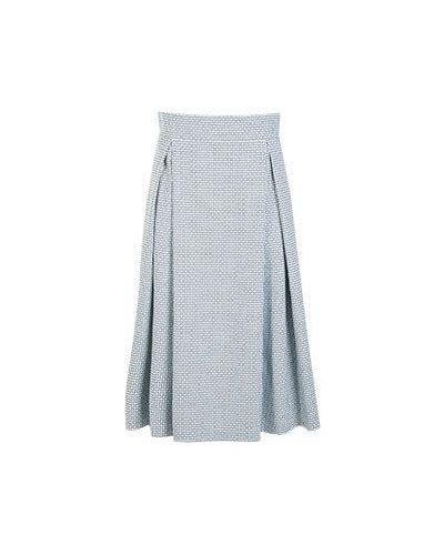 Голубая юбка миди летняя Vuall