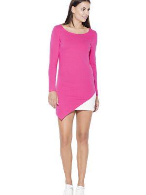 Różowa sukienka bawełniana Katrus
