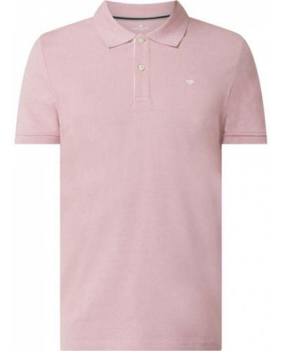 Różowy t-shirt bawełniany Tom Tailor