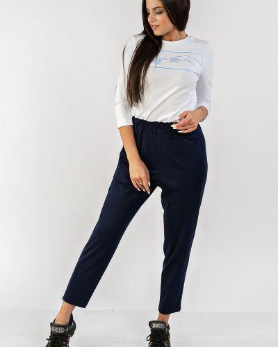 Зауженные модные брюки на резинке Mari-line