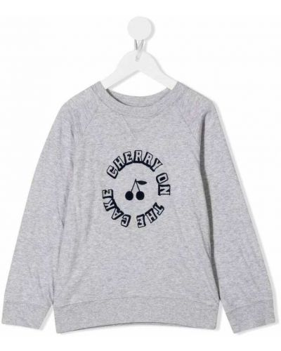 Szary sweter Bonpoint