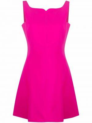 Шелковое платье - розовое Versace