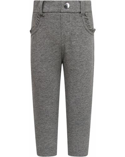 Хлопковые серые брюки Mayoral