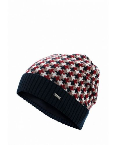 Синяя шапка бини Finn Flare