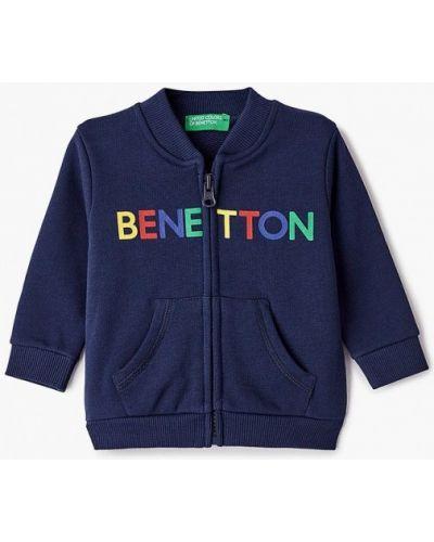 Синяя олимпийка United Colors Of Benetton