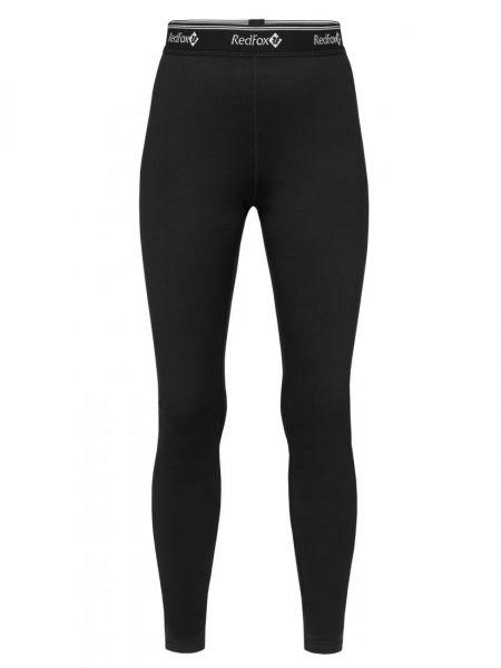 Трекинговые нейлоновые черные теплые спортивные брюки Red Fox