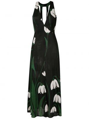 Платье миди - черное Adriana Degreas
