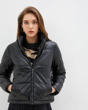 Кожаная куртка черная осенняя Noisy May