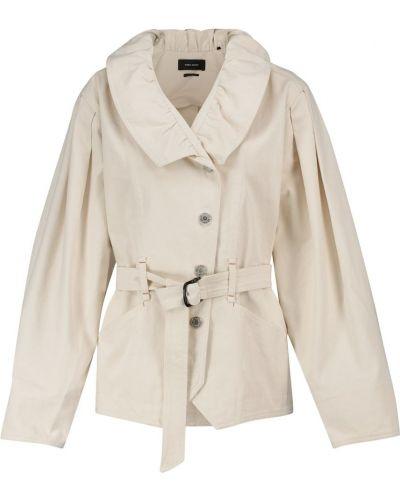 Белая джинсовая куртка Isabel Marant