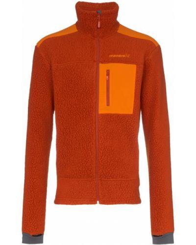 Флисовая куртка - оранжевая Norrona