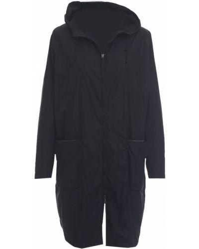 Czarny płaszcz przeciwdeszczowy Fabiana Filippi