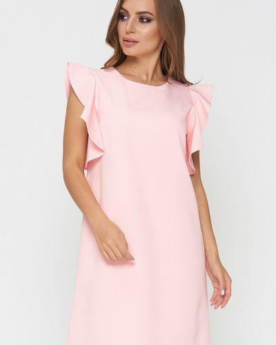 Повседневное платье весеннее розовое Sellin